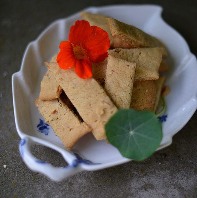 Ingefärskakor med apelsin i vår podd