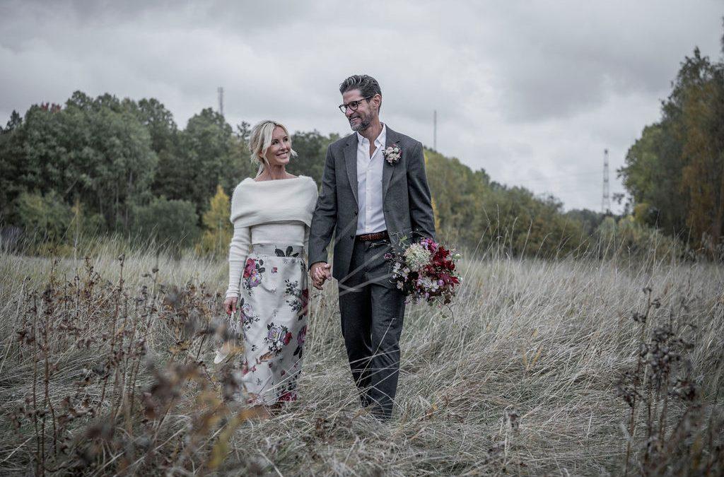 Bröllopsresan gick till Italien